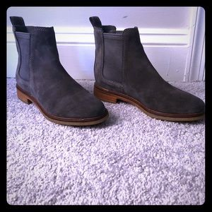 Cole Haan ankle boots.